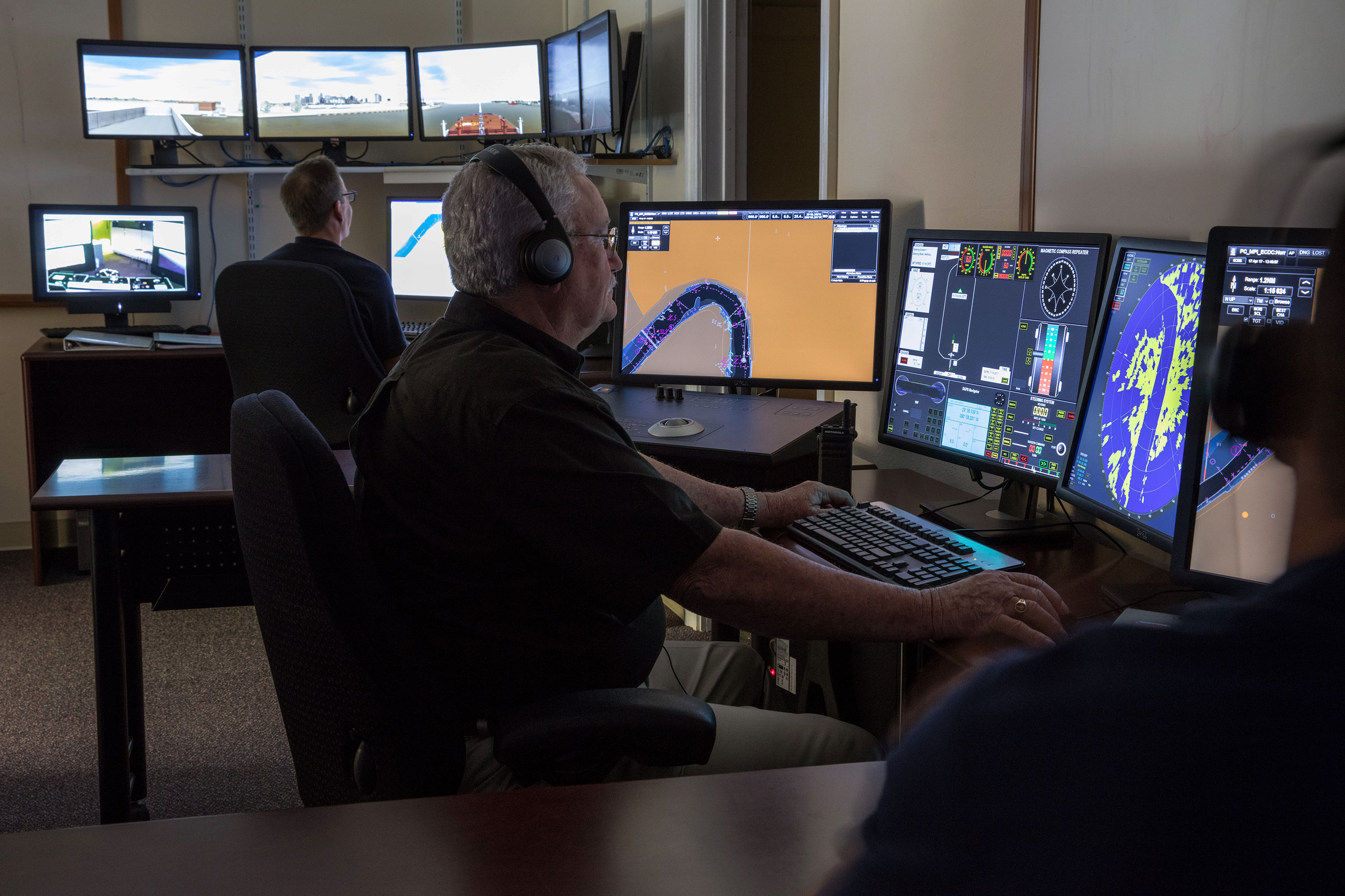 Maritime Ship Simulator Design Consulting Locus, LLC